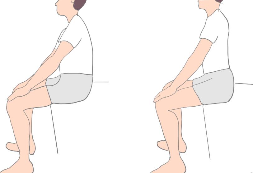 変形性股関節症股関節骨盤前後傾エクササイズ