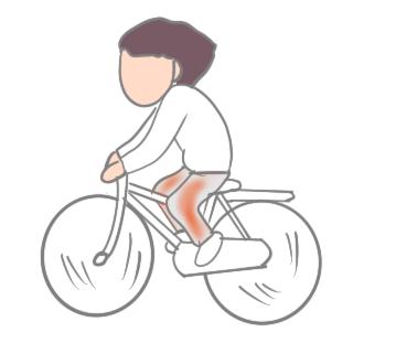 脊柱管狭窄症と慢性動脈閉塞症の間欠性跛行の違い画像