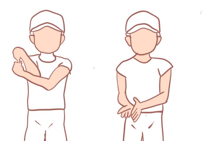 野球肘の回旋制限