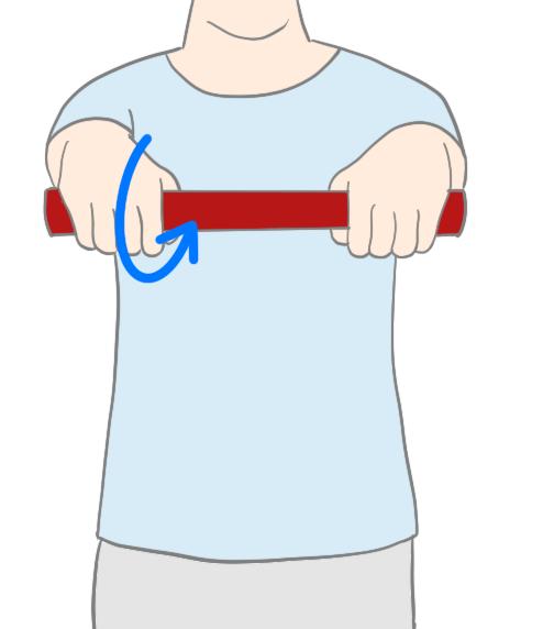 テニス肘トレーニング