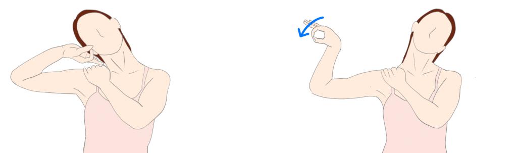肘部管症候群 尺骨神経滑走性改善エクササイズ