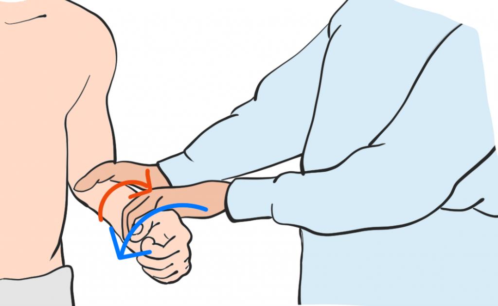 上腕二頭筋長頭腱炎ヤーガソンテスト