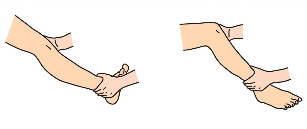 外側側副靭帯損傷内反ストレステスト