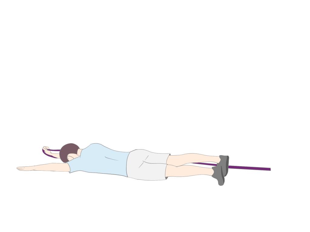 上肢の促通を伴った上肢からのローリング②
