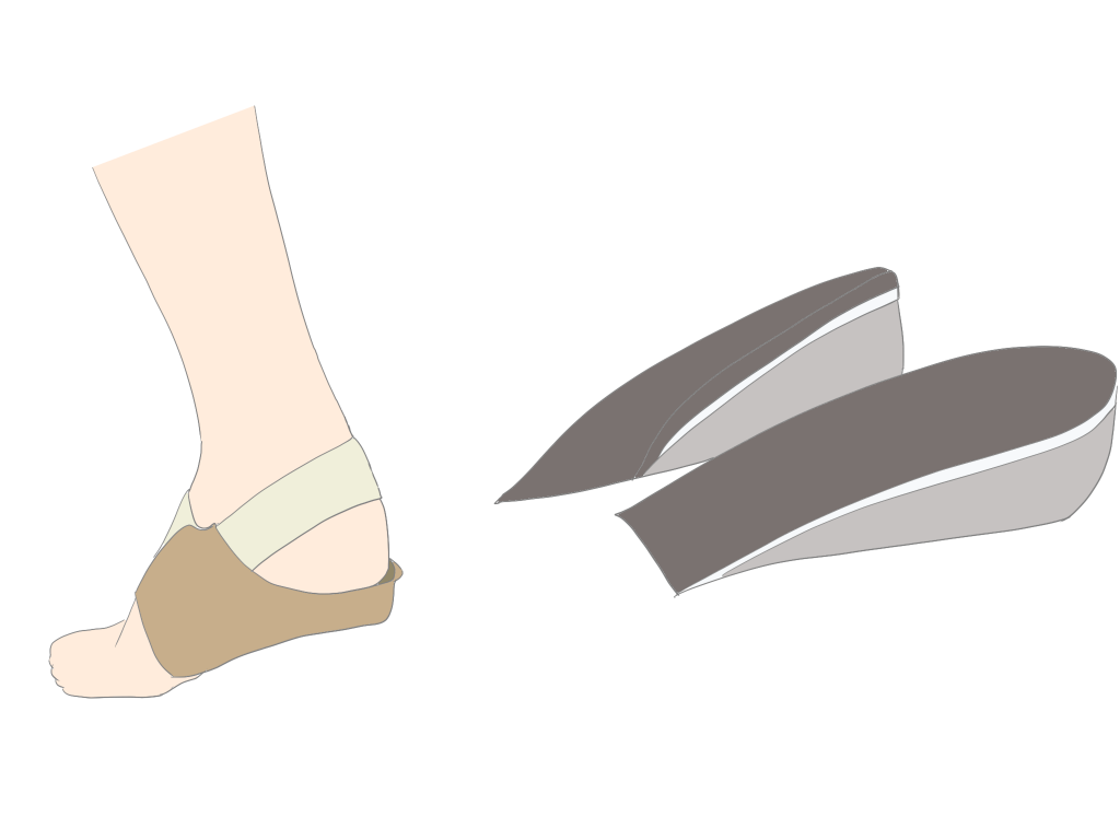 アキレス腱炎踵の補高