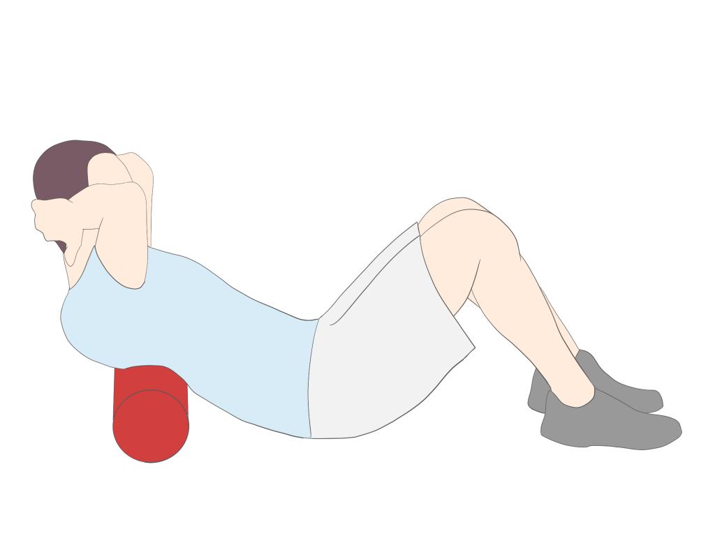 胸椎の伸展制限に対するストレッチ