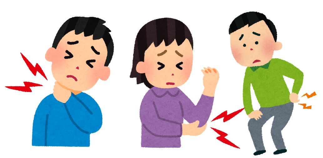 部位別 疾患解説【金沢市のアルコット接骨院の疾患解説】