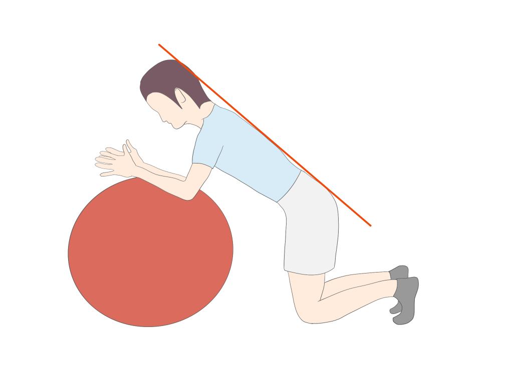 四つ這いでの体幹の安定性向上エクササイズ