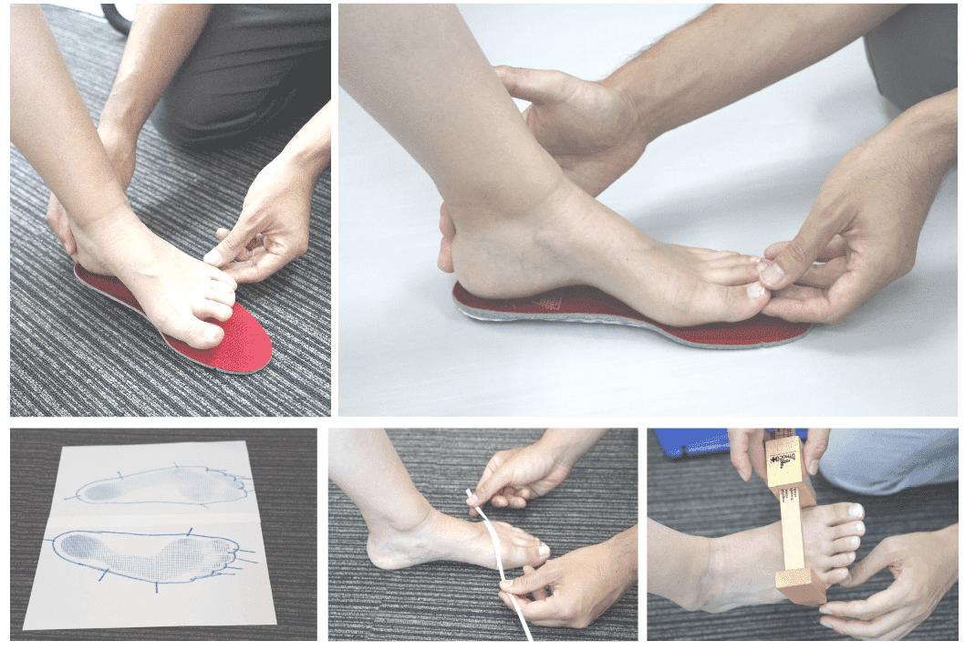 足と靴、運動の専門家だからできる根本治療