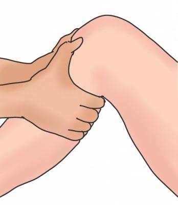 膝関節後外側不安定性後外側引き出しテスト