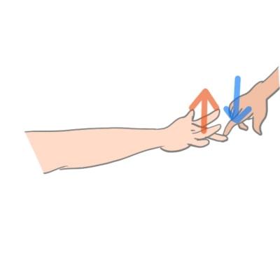 テニス肘外側上顆炎中指伸展テスト