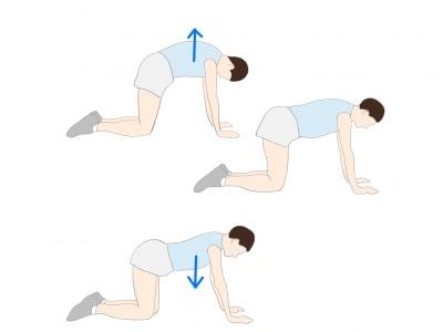 強直性脊椎炎背中のストレッチ