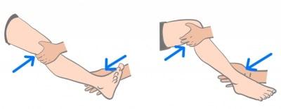 膝関節外反ストレステスト