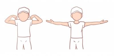 野球肘の可動域制限
